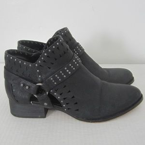 Vince Camuto Black Calley Cutout Booties 8M